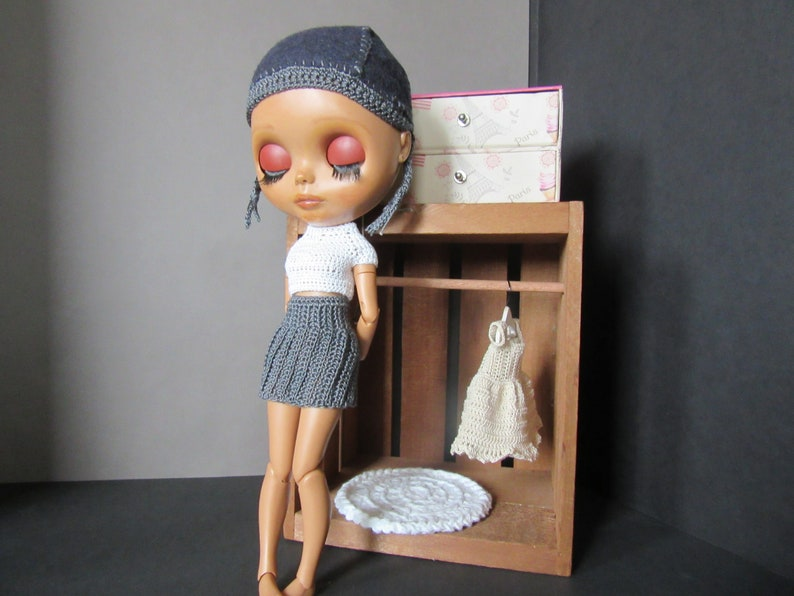 Blythe Crochet Pleated and Wrap Skirts Downloadable PDF Pattern New PDF