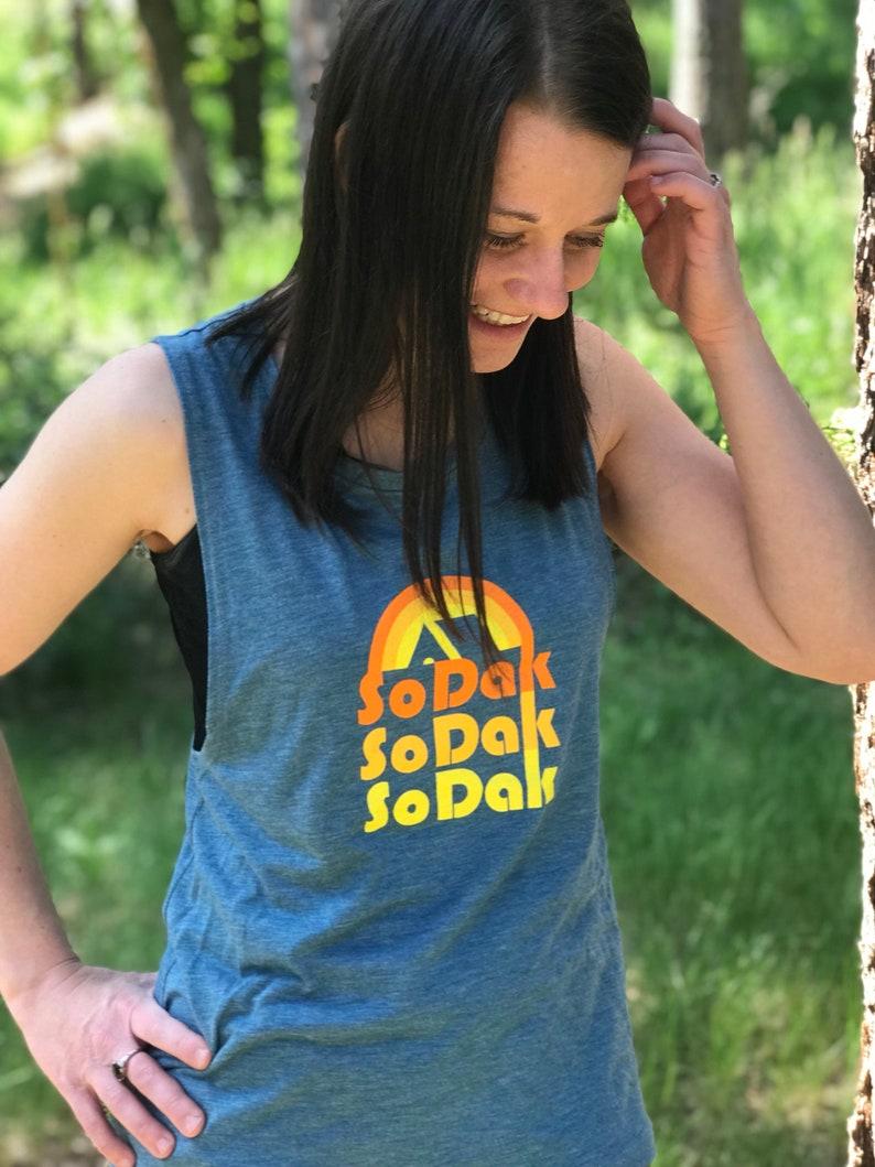 SoDak Women's Muscle Tank  Women's South Dakota image 0