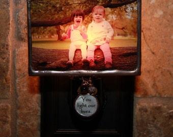Custom Personalized Photo Night Light