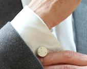 Personalised Constellation Cufflinks in Sterling Silver