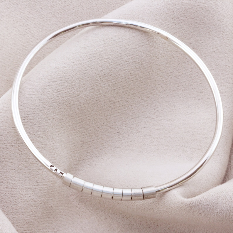 99aedc45edd91 Personalised Hidden Message Bangle
