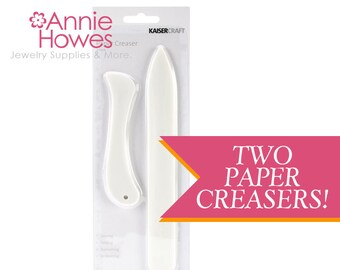 Plastic Paper Creaser For Paper Folding Bookbinding and Origami.