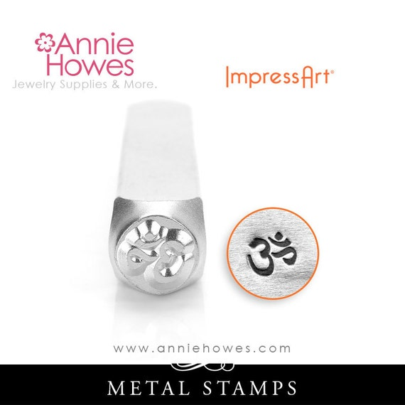 6mm ImpressArt Mountains Signature Design Metal Stamp