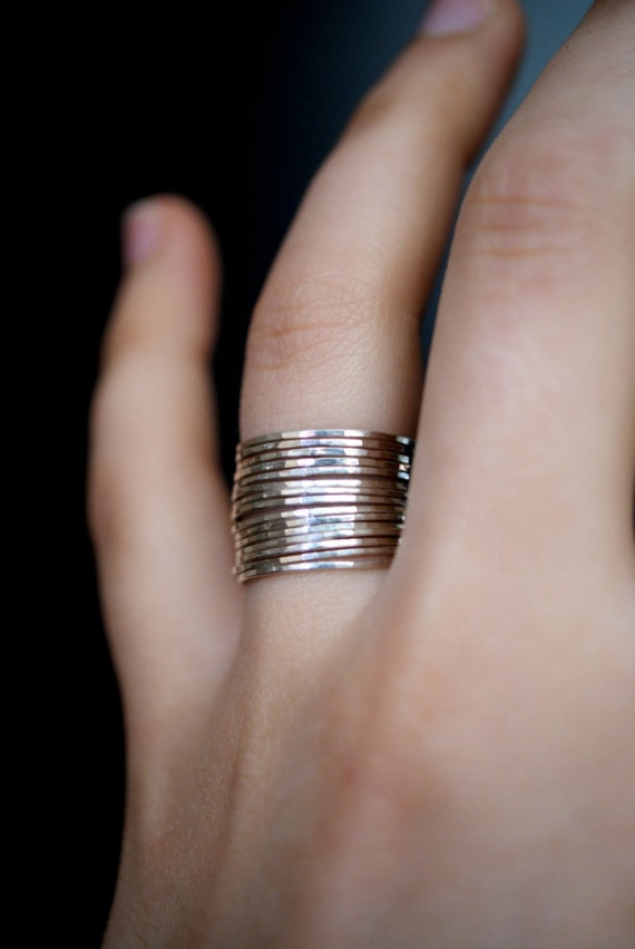 Sterling Weave Ring Rings Under 10 Dollars Jewelry Wholesale Ring Trendy Rings Thin band Silver Stackable Ring Silver 925 Band Ring