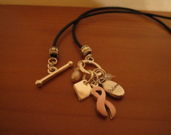 Breast Cancer Awareness Funky Cool Necklace