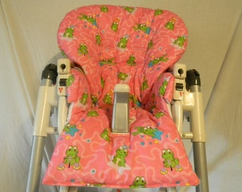 Magnificent Prima Pappa High Chair Cover In Forest Friends Fits Many Etsy Bralicious Painted Fabric Chair Ideas Braliciousco