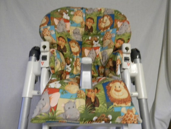 Astonishing Prima Pappa Diner And More Highchair Cover In Baby Safari Animals See Descrip Bralicious Painted Fabric Chair Ideas Braliciousco