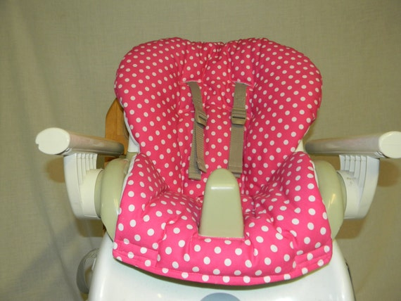 Enjoyable Space Saver High Chair Cover In Pink With White Dots Very Cute Alphanode Cool Chair Designs And Ideas Alphanodeonline