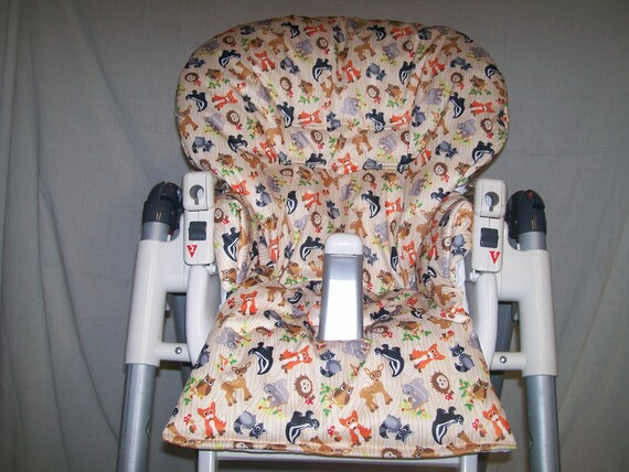 Strange Prima Pappa High Chair Cover In Forest Friends Fits Many Chairs See Descritpion Wipeable Bralicious Painted Fabric Chair Ideas Braliciousco