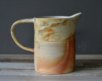 Ceramic Pitcher - wood fired