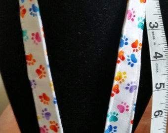 Animal Paws Lanyard