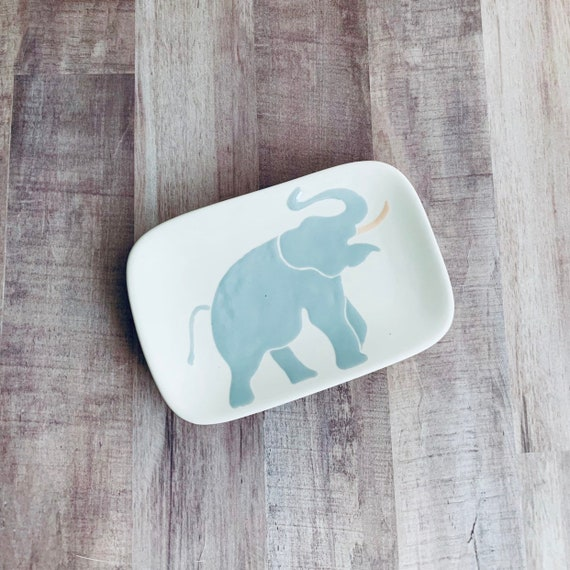 Elephant Soap Dishes. Elephant. Soap. Dishes. Trinket. Home Decor. Kitchen. Housewarming