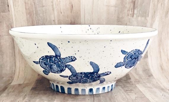 Small Serving Bowl. Serving. Dinner Party. Housewarming Gift. Wedding.Ceramic Pottery. Circle. Handmade by Sara Hunter Design