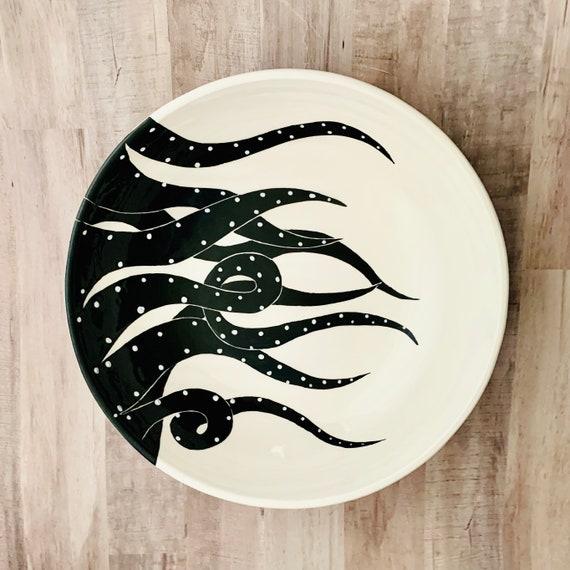 Pasta Bowl Bowl Crab Pasta Bowl Pasta Handmade by Sara Hunter