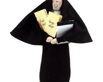 Nun doll Sister Iva Story--the writer/author