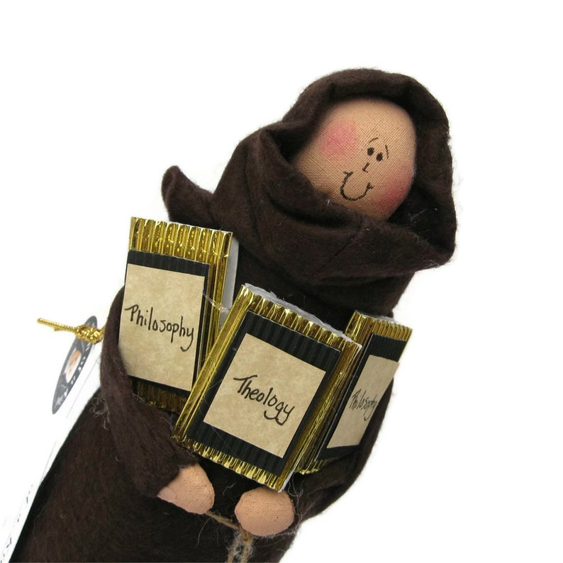 Monk doll brother doll Catholic gift The Deep Friar image 0