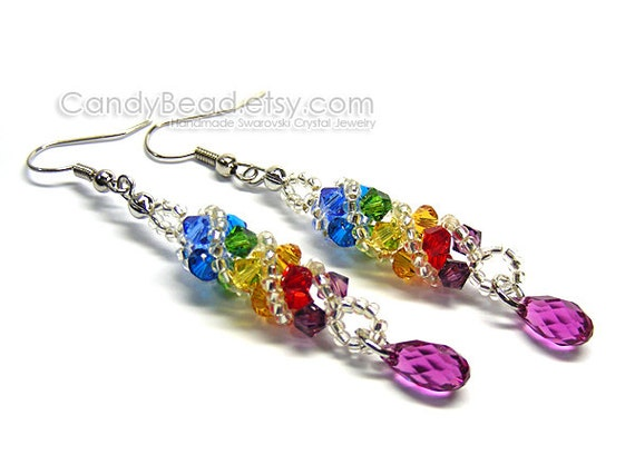 50e0df403 Swarovski earringscrystal earringsSwarovski Crystal | Etsy