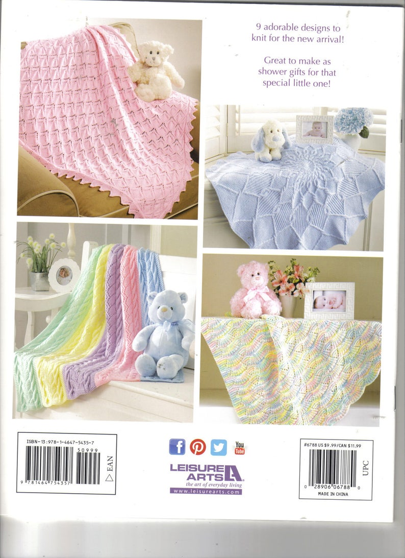 c0aa89fa8 Dreamy Baby Wraps Knitting Book New Release Baby