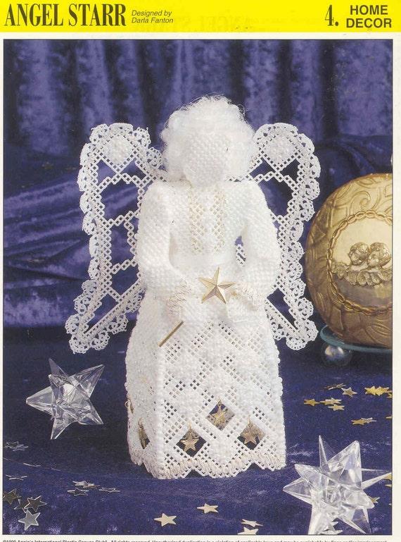 Angel Starr patrón de lona plástica