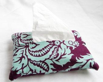 Damask pocket facial tissues