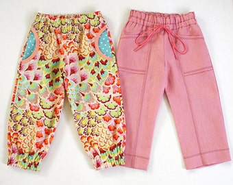 Harem Pants Pattern Etsy