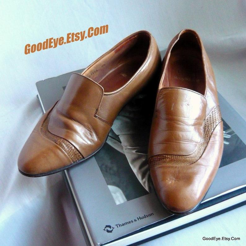 bc0973f4579 Vintage Men s Stacy Adams Loafers   size 7 .5 M Eu 40 UK