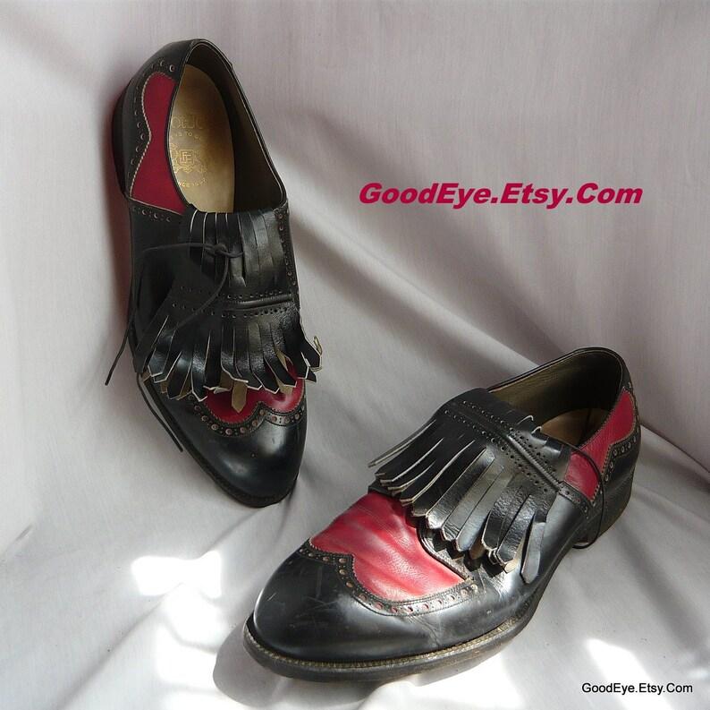c77a0bd024df Vintage Mens SPECTATOR Golf Shoes   size 11 D Eu 44 .5 UK 10