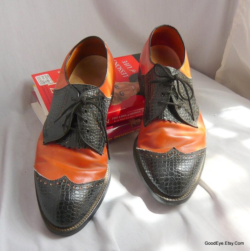 57e987d5190 Vintage BEN HOGAN Golf Shoes / Men size 9 .5 E-width Eu 43 .5 | Etsy