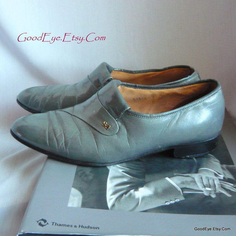 625fb9bccb5 Vintage Men s Steel GRAY Stacy Adams Shoes   size 7 M Eu 7 UK 6 .5   All  L... Vintage Men s Steel GRAY Stacy Adams Shoes   size 7 M Eu 7 UK 6 .5    All ...