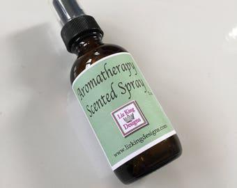 Lemongrass Aromatherapy spray, Spritzer, Pillow Spray, Mister, Relax, heating pad spray, Essential oils
