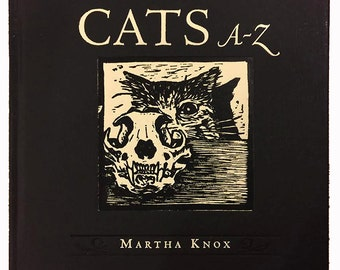 Cats A-Z Book SIGNED COPY