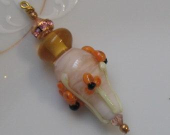 Lampwork bead  pendant handmade pendant jewelry-pendants-one handmade pendant