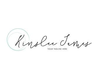 Pre-Made Logo, Small Business Logo, Ready made logo, Blog Logo, handmade business, script logo