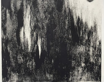 Moonlight (Monoprint)