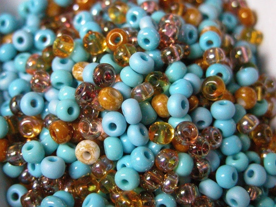 50g//Lot Mixed Turquoise Loose Spacer Beads Charms for Jewelry Making Crafts