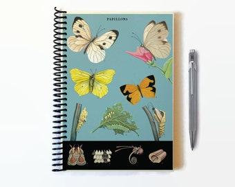 Butterfly Evolution, A5 Notebook Spiral Bound