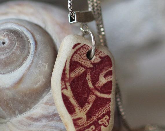Sea Story sea pottery necklace