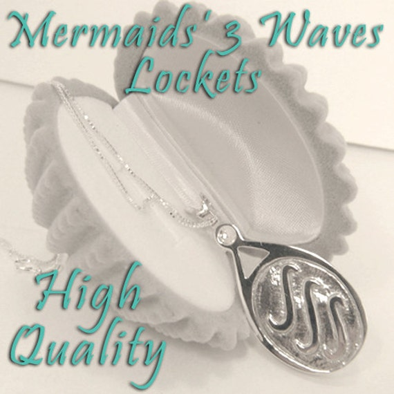 H20 Just Add Water EXACT Replica Locket Necklace Like H2O