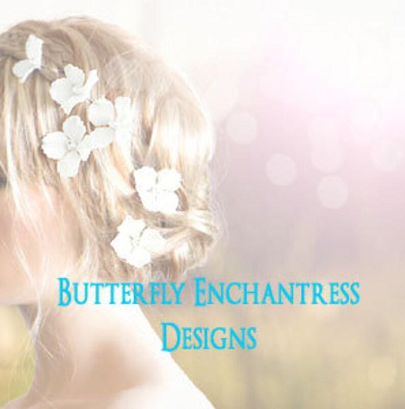 Wedding Hair Flowers Bridal Hair Accessories Rustic Wedding image 1
