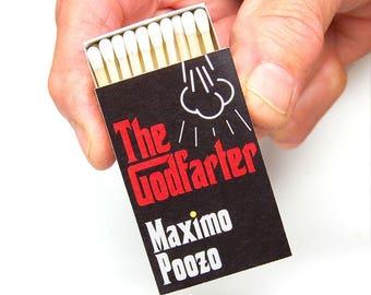 Stocking stuffer gag gift matchboxes -- The Godfarter x 3