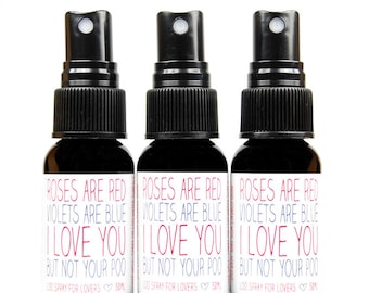 Stocking stuffer gag gift novelty toilet spray. Cupid's Toilet Tamer bathroom deodorizer. Pick your scent.