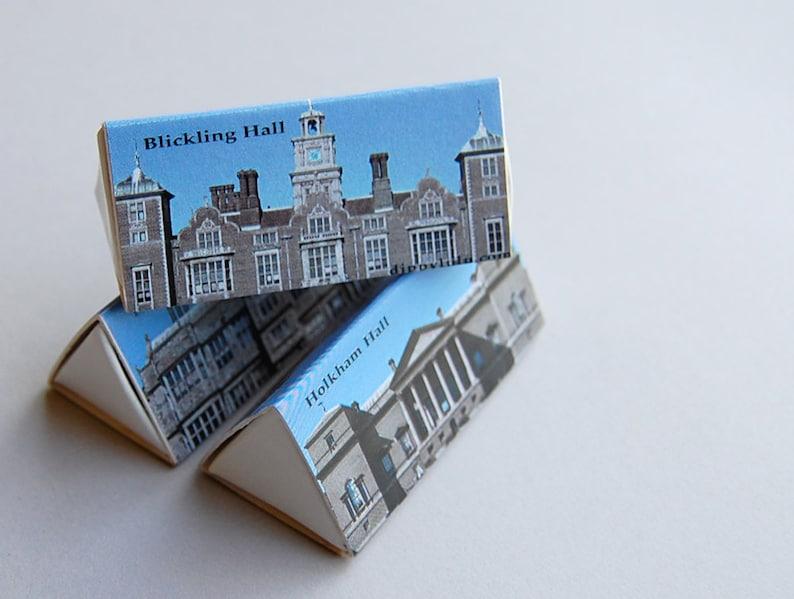 Stylish matchbox mini gift set  British D-Lites  Stately image 0