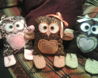 Baby animal Soothie Owl Copy