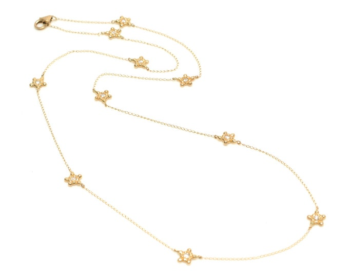 Tiny Star Infinity Necklace