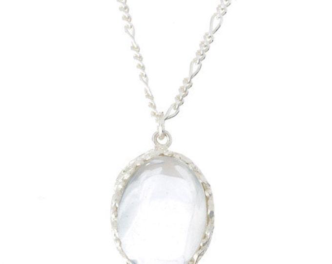 Rock Crystal Amulet Pendant