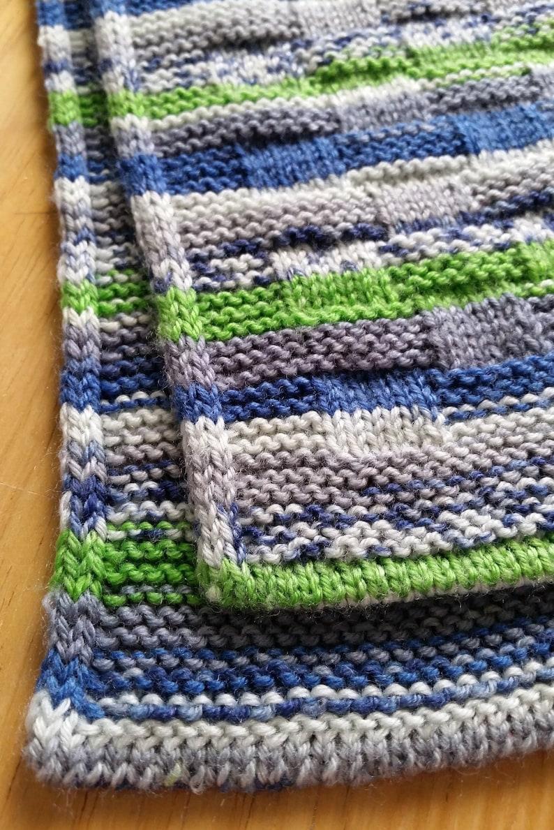 Warp And Weft Scarf Knitting Pattern Pdf Digital Download Etsy