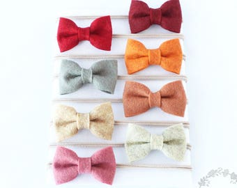 Small Bow Tie Headband