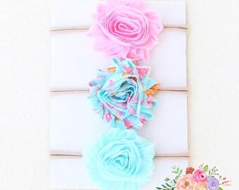 Baby Headband. Flower. Flower Headband. Chiffon. Bow Headband. Headband. Infant Headband. Bow Headbands. Nylon Headband, Headband Set. Bows.