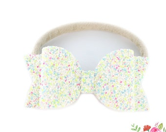 Baby Headbands, Glitter Headbands, Nylon Headbands, Baby Gift,  Home coming outfit