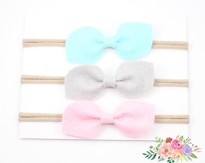 Baby headbands, baby girl headbands, infant headbands, baby headbands set, baby headbands and bows, baby headbands set, nylon headbands, set